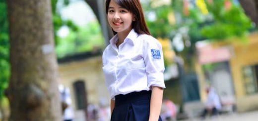 anh girl xinh hoc sinh cap 3 rang khenh 520x245 - Phân tích tình huống độc đáo của truyện Vợ nhặt của Kim Lân