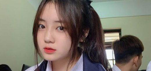 hinh anh nu sinh hot girl cap 2 520x245 - Bài văn tả cây hoa hồng em thích