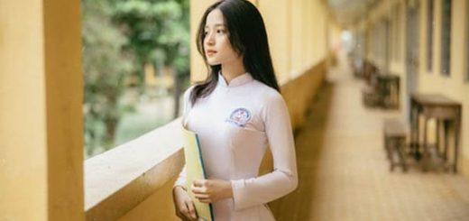 nu sinh dien aoinh 4 520x245 - Phân tích bài văn Những đứa con trong gia đình của Nguyễn Thi